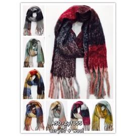 écharpe épaisse laine