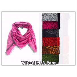 Foulard carré panthere