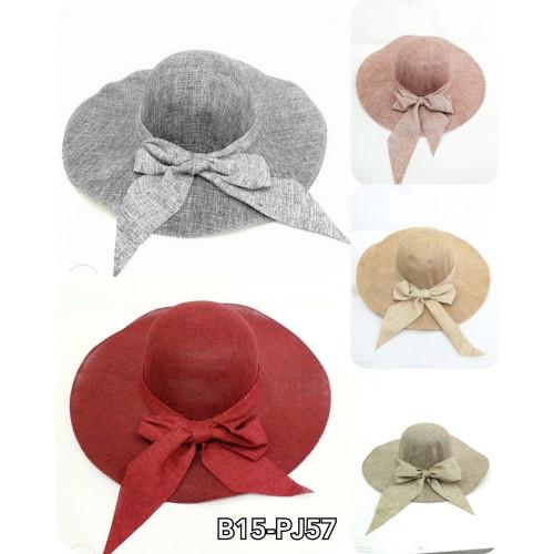 Chapeau ruban satiné